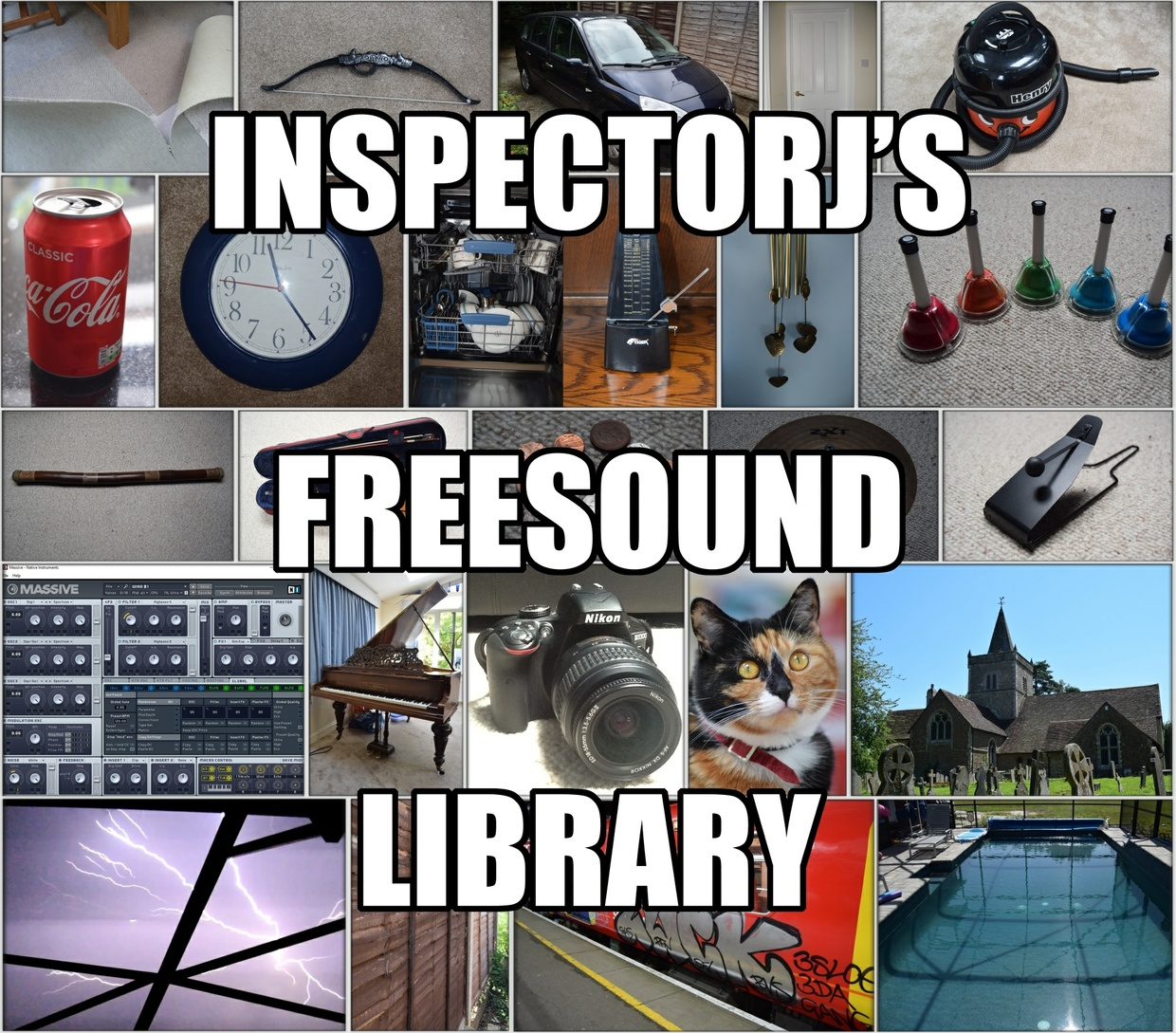 InspectorJ's Freesound Library (License Only)