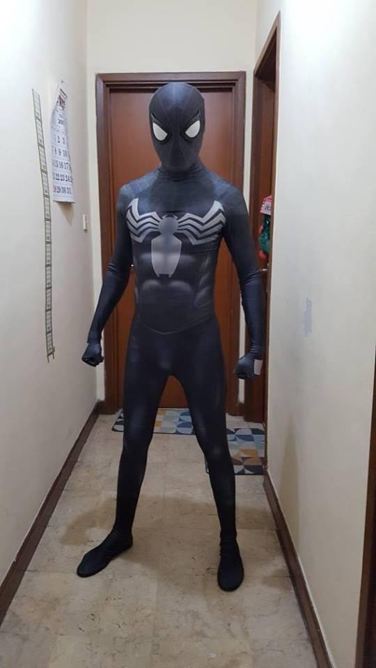 Venom Homecoming spiderman style