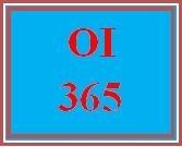 OI 365 Week 3 KM and IC Improvement Plan