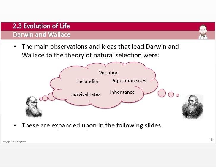 Cambridge Pre-U Biology - 2.3 Evolution of Life
