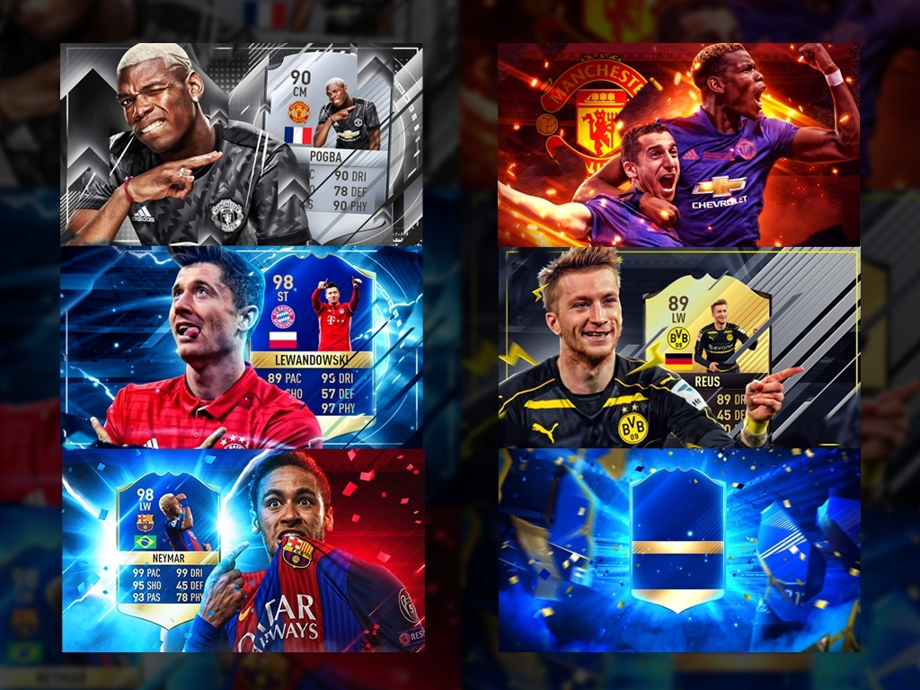 My best thumbnails Pack FIFA 17 (EDITABLES) // ZERTX