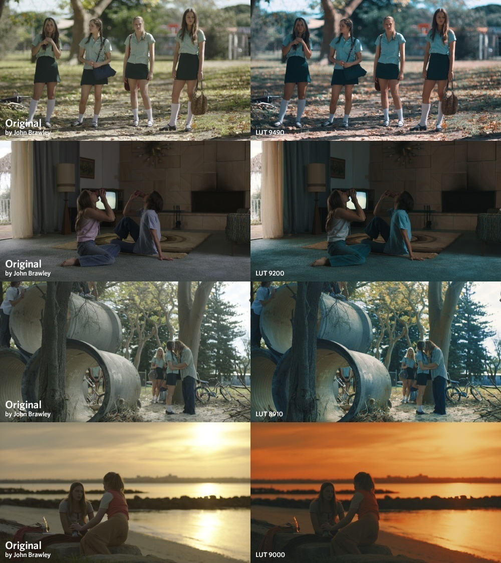 99+ LUTs Cinematic Color Grading Pack