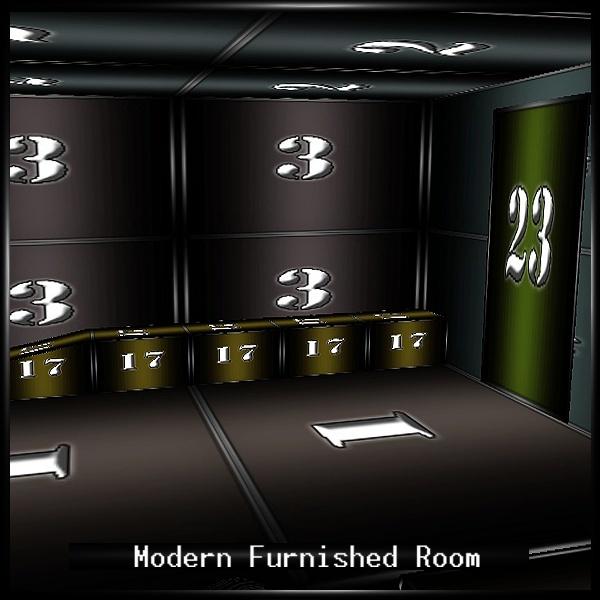 Modern Furnished Room