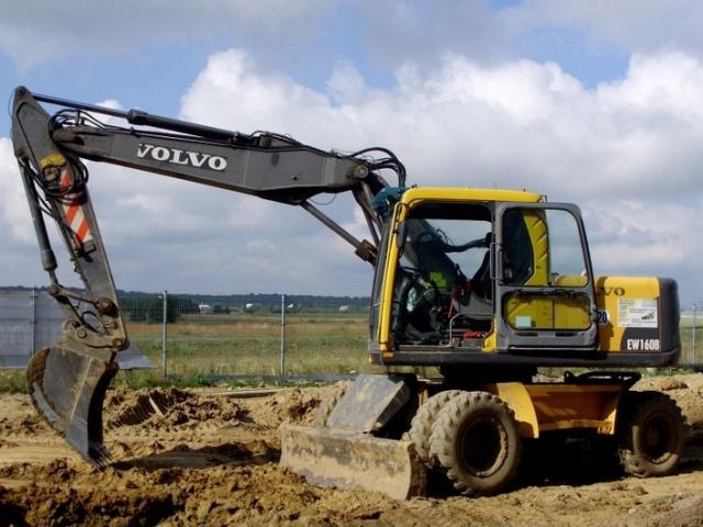 VOLVO EW160B WHEELED EXCAVATOR SERVICE REPAIR MANUAL - DOWNLOAD