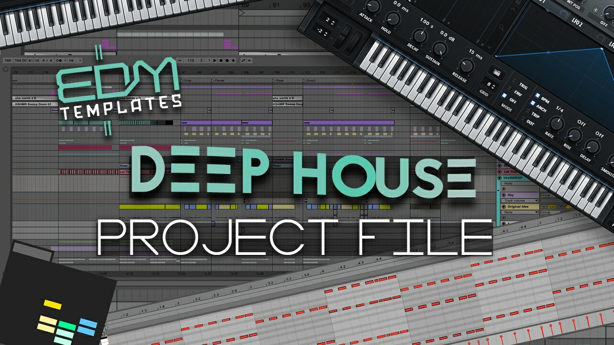 Ableton Live Deep House Template 07.01