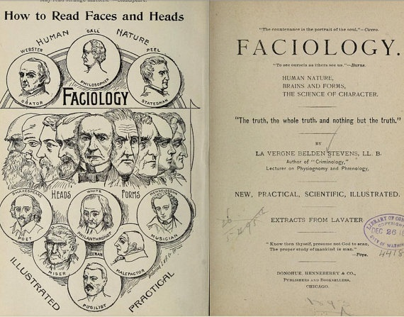 Physiognomy - Palmistry - Phrenology