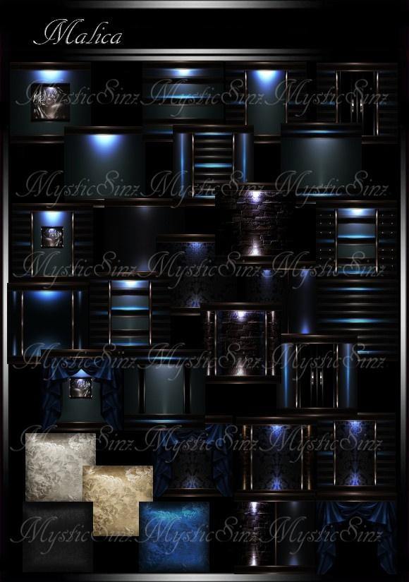 IMVU Malica Room Collection