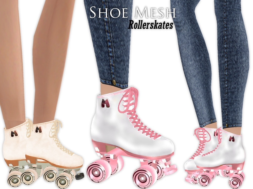 IMVU Mesh - Shoes - Rollerskates