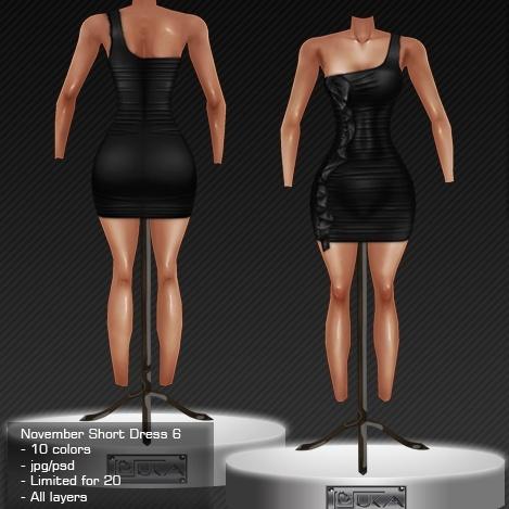 2013 Nov Short Dress # 6