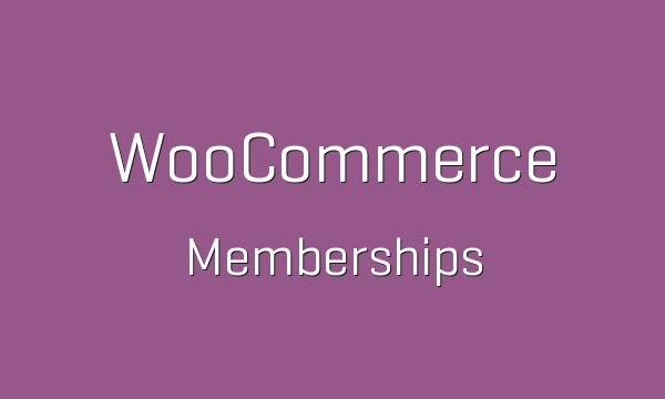 WooCommerce Memberships 1.9.6 Extension