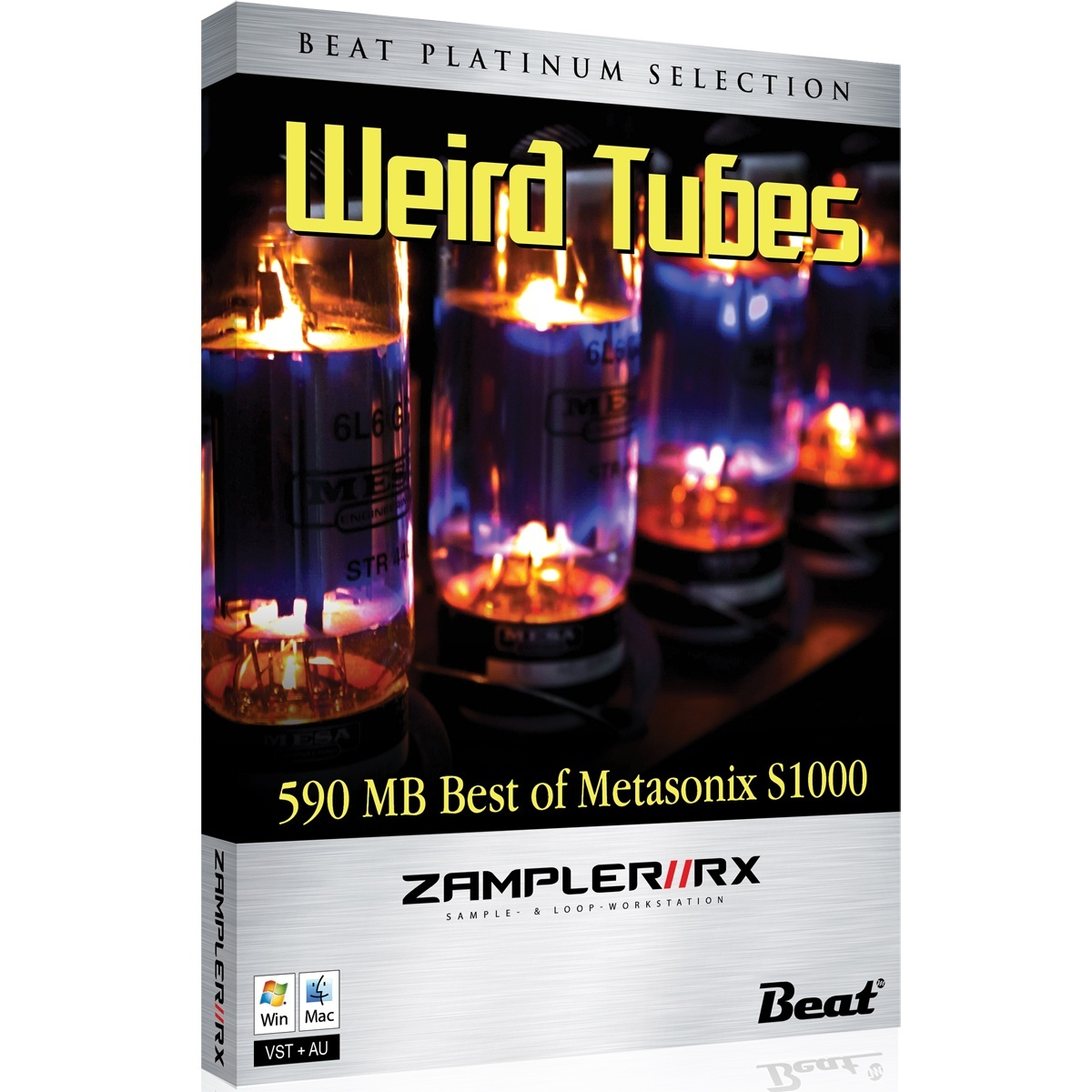 WEIRD TUBES – Metasonix S-1000 sound bank for Zampler//RX workstation (Win/OSX plugin included)