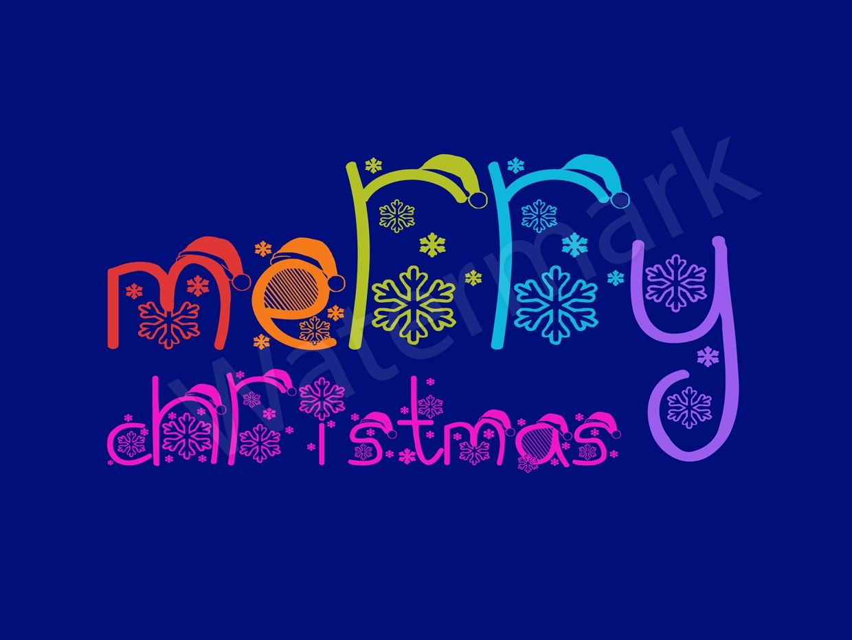 Christmas Greeting Card (JPG & EPS file)
