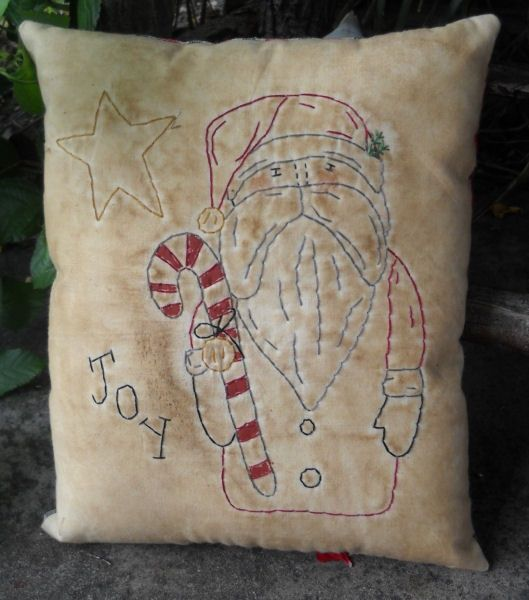 #390 Olde Thyme Santa Stitchery e pattern