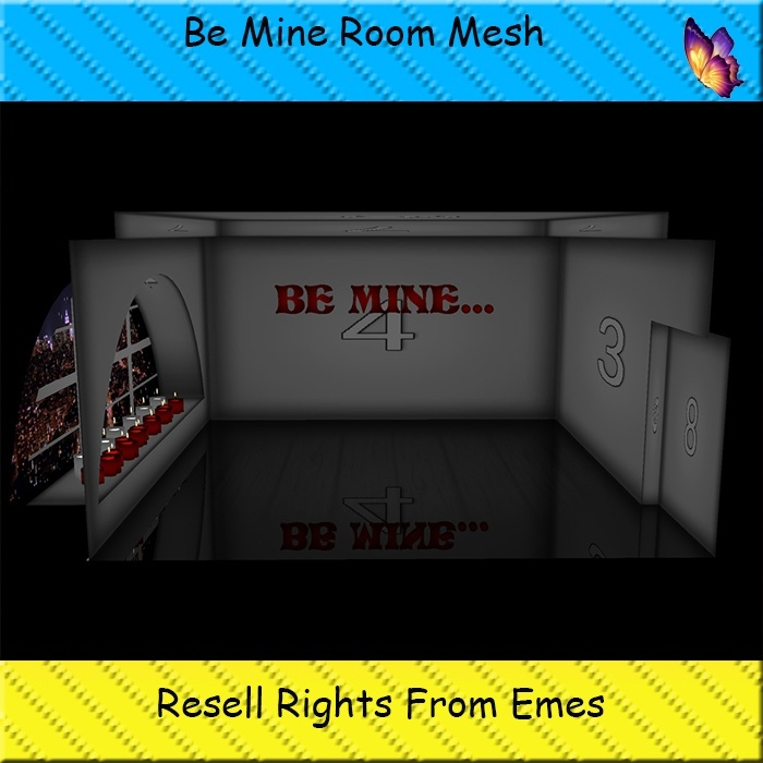 Be Mine Room Mesh Catty Only!!!