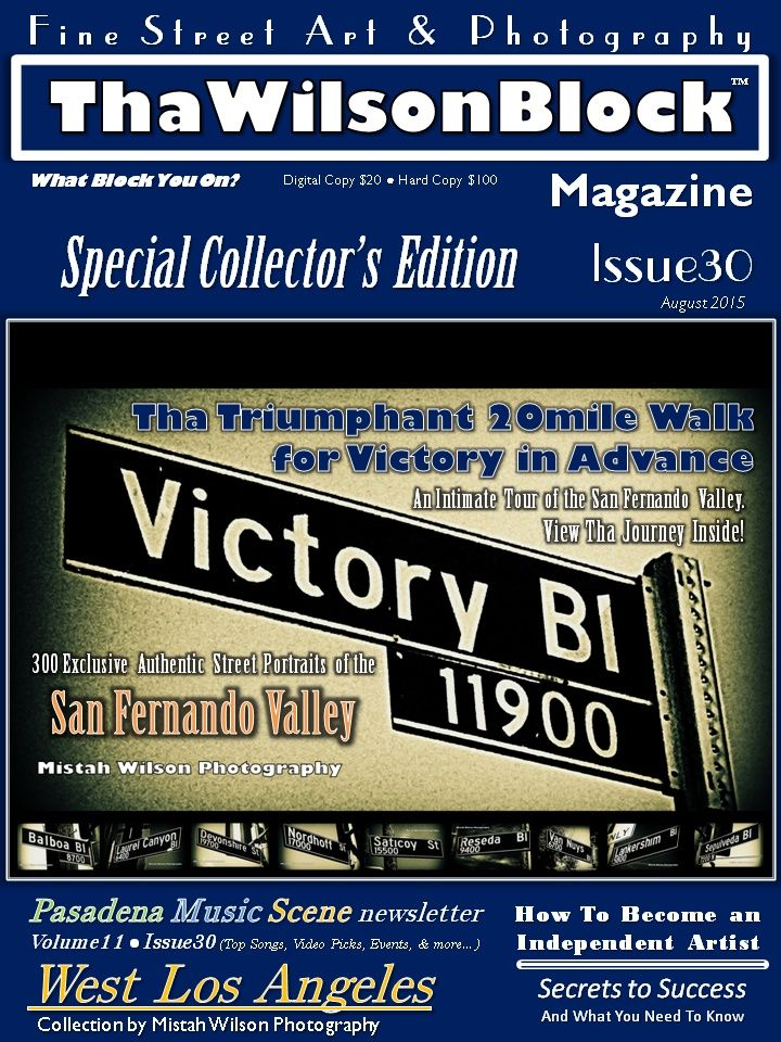 "ThaWilsonBlock Magazine Issue30 ""Victory In Advance"""