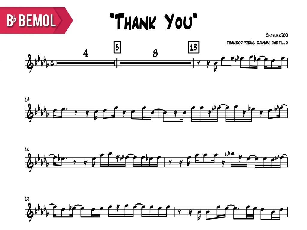 "Charlez360 - ""Thank You"" - Bb"