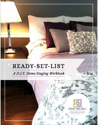 Ready Set List: A DIY Home Staging Guide