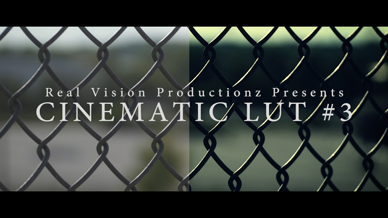 CINEMATIC LUT #3
