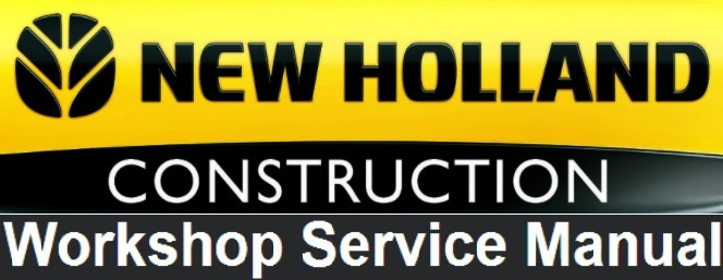 New Holland W230 Wheel Loader Service Repair Factory Manual INSTANT DOWNLOAD