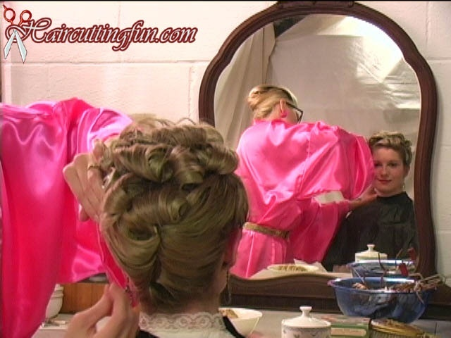 Kat's 1950's Deb Cold Wave Perm and 1940's Updo - VOD Digital Video on Demand