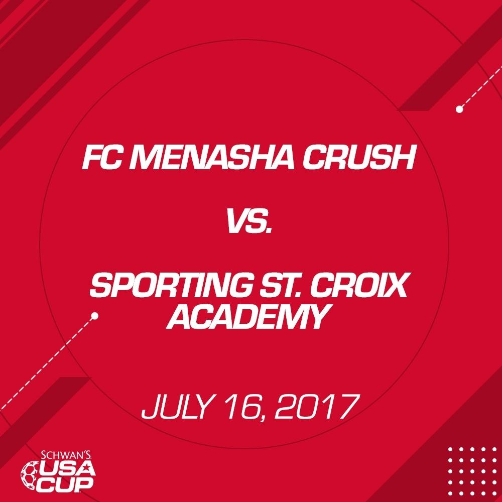 Boys U13 - July 16, 2017 - FC Menasha Crush V. Sporting St. Croix Academy 04