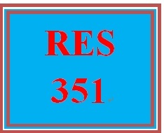 RES 351 Week 5 Preparing to Conduct Business Research, Part 3