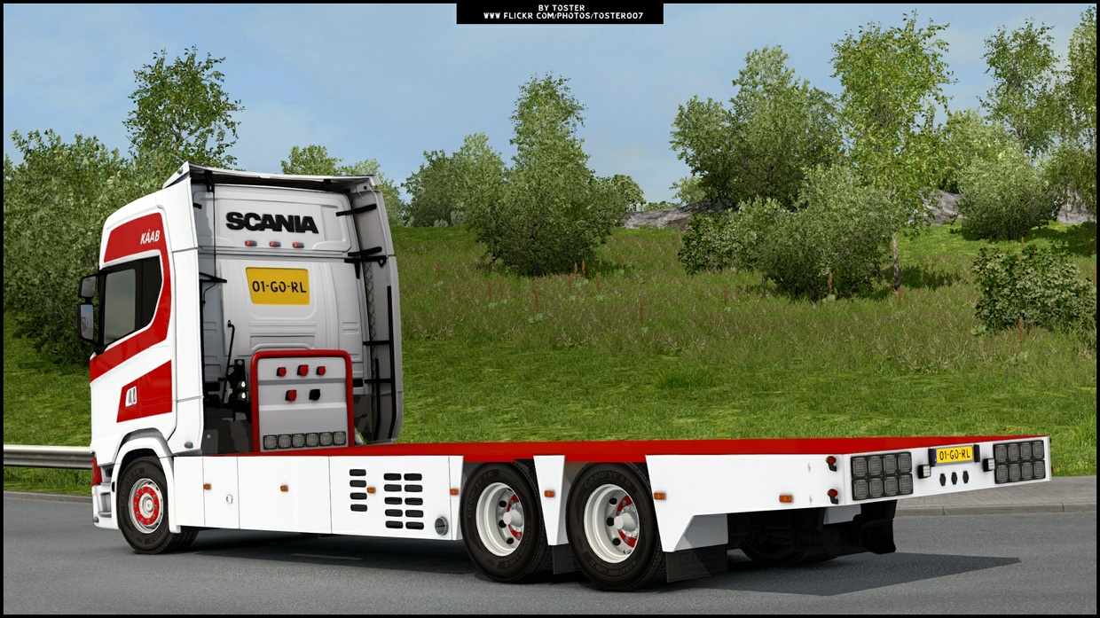 Scania S Kaab Transport ETS 2