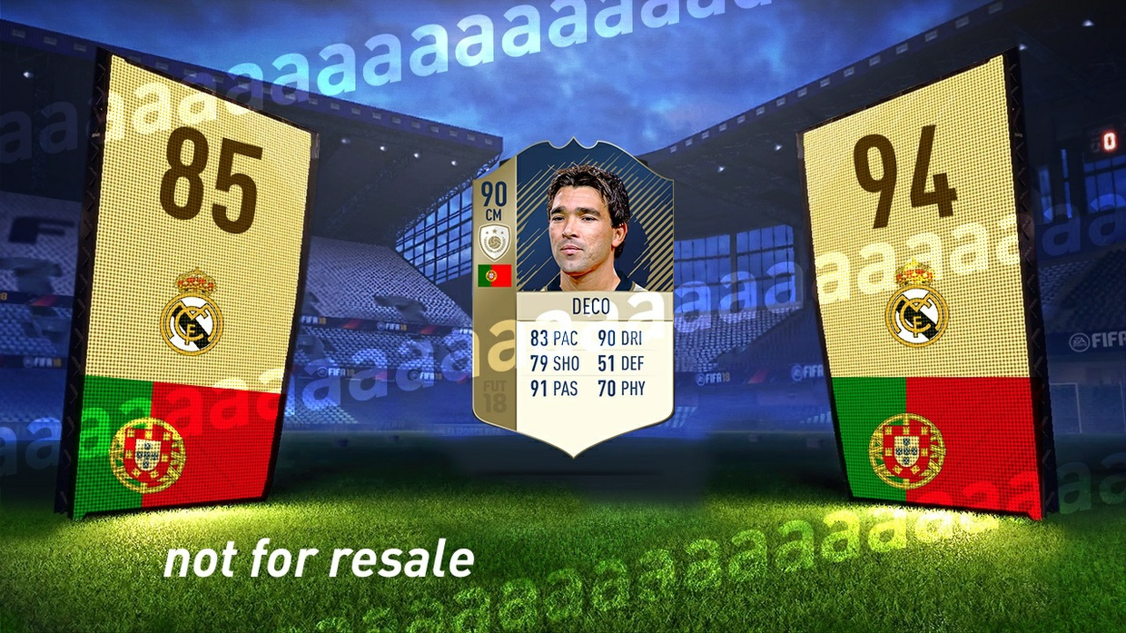 FIFA 18 Pack Opening Animation Editable Template