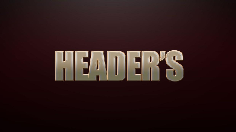 Header's GFX