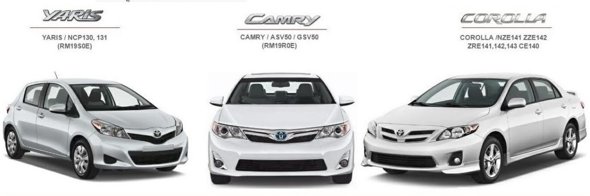 Toyota Camry Corolla & Yaris Factory Service Manual GSIC