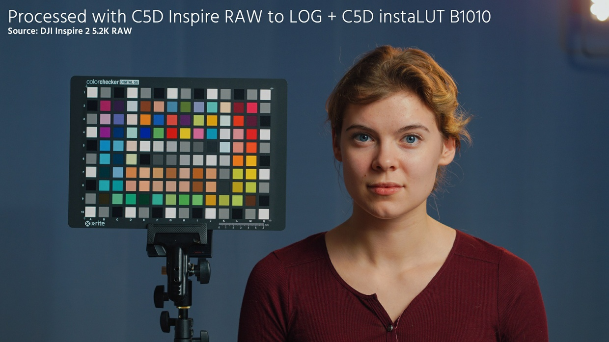 C5D Inspire RAW to LOG