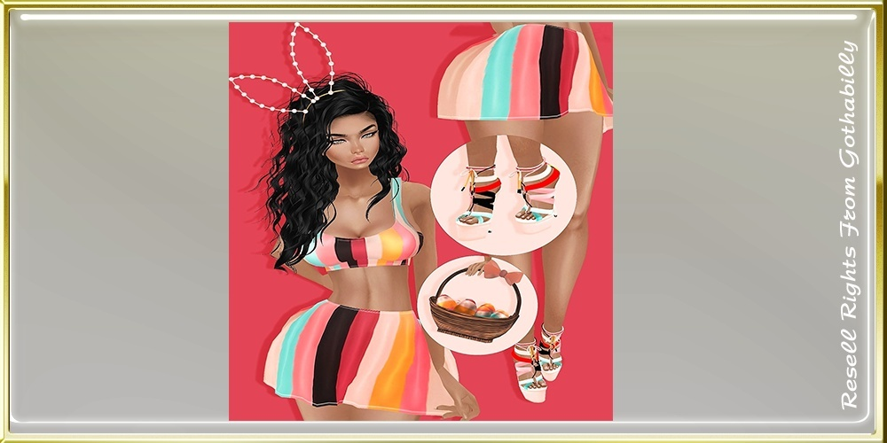 Bunny Girl Easter Pack Catty Only!!!!