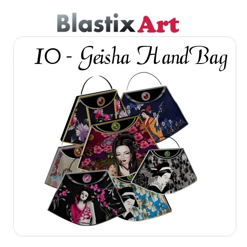 10-Geisha  HandBag