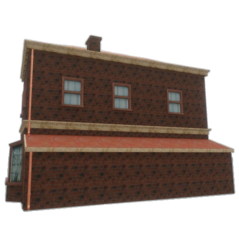House (old) - PBR 3D Model