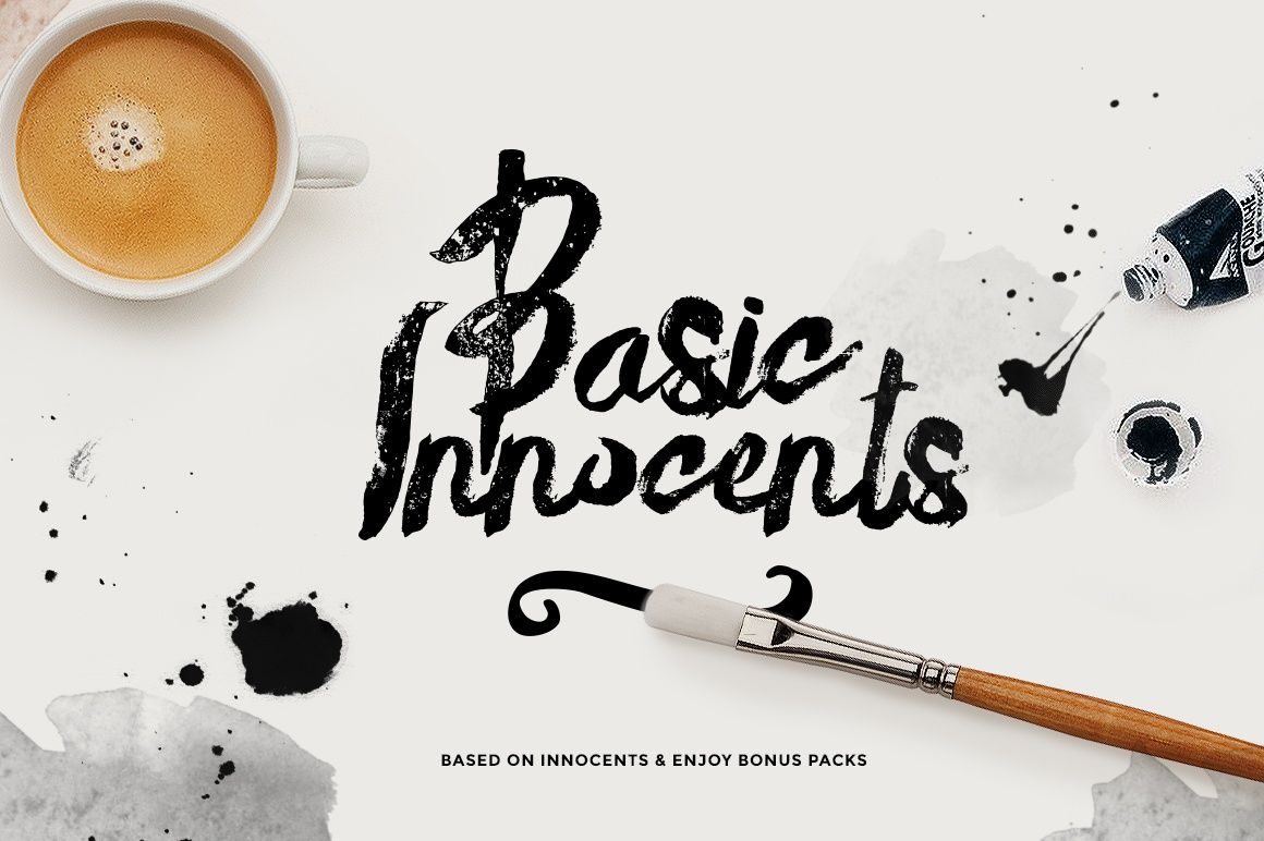 Basik Rough Typeface+bonus (70%off)