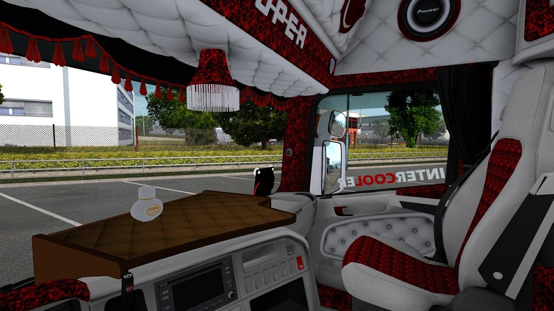 Euro Truck Simulaotr Special Interior danish (RJL)