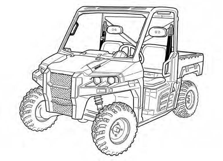 Bobcat 3600 Utility Vehicle Service Repair Manual Download(S/N:AJNT11001 & Above AJNV11001 & Above)