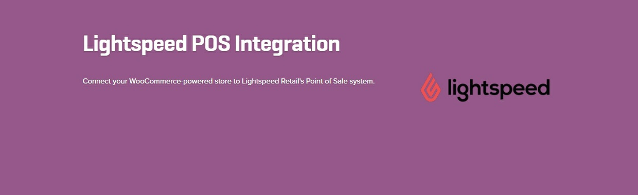 WooCommerce Lightspeed POS Integration 1.4.3 Extension