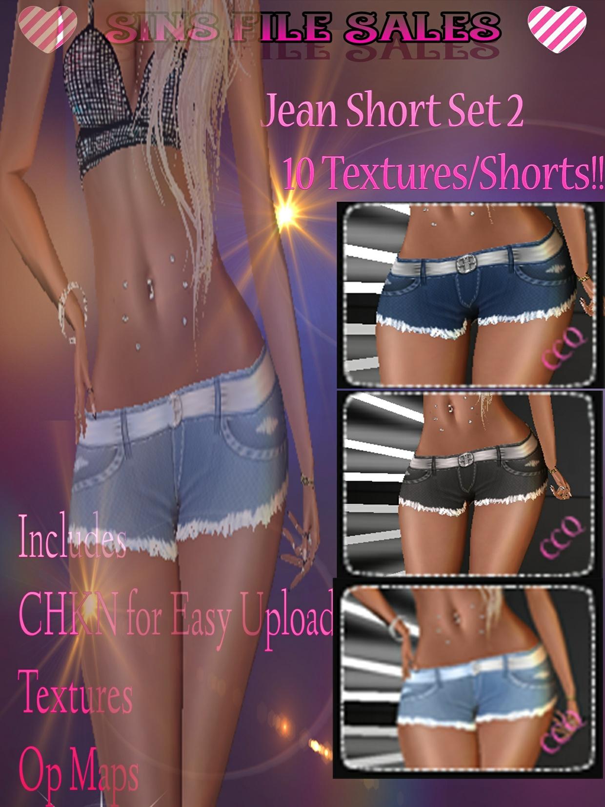 Short Set 2 *10 Short Textures + CHKN