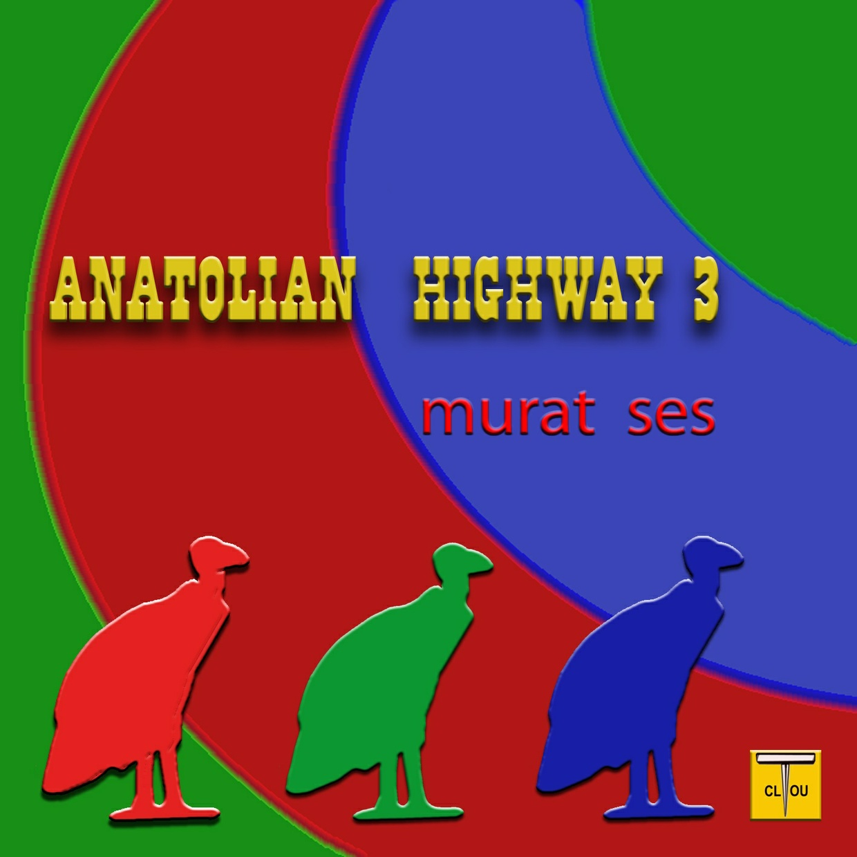 ANATOLIAN HIGHWAY 3 Maxi Single by Murat Ses (3 tracks) Pre-Order Sale ! !