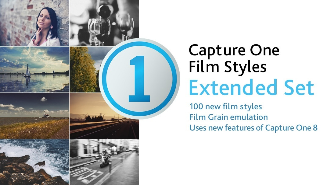Capture One Film Styles Extended Set