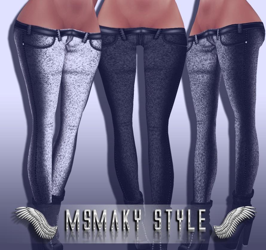 ~ Low Jeans (sis3d compatible) ~