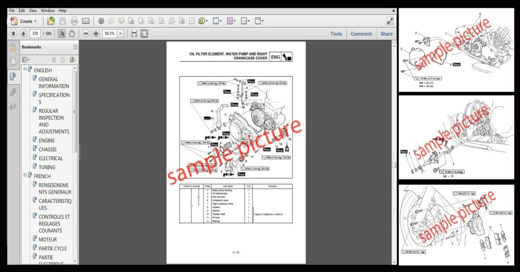 Aprilia RST Mille Workshop Service Repair Manual 2002 Onward