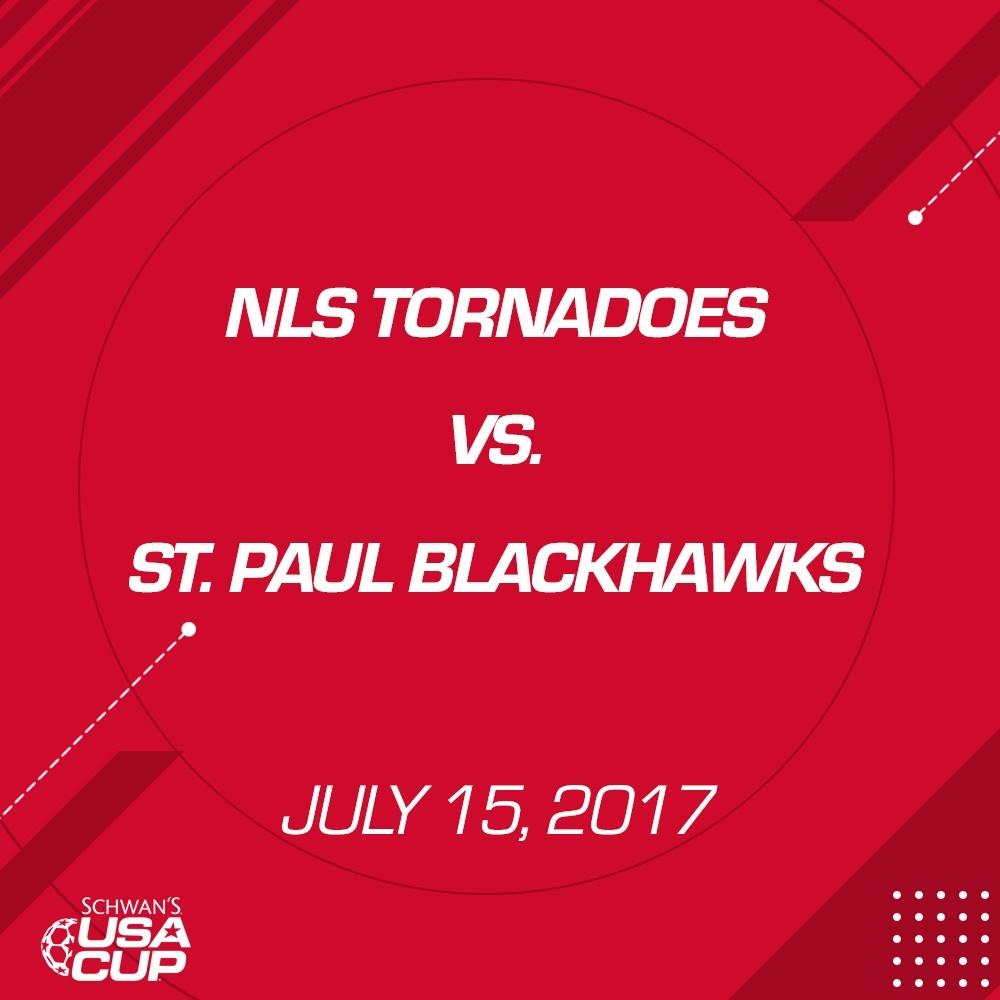 Boys U13 - July 15, 2017 - NLS Tornadoes V. St. Paul Blackhawks