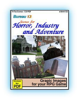 Bureau 13: Scenes for Horror, Industry & Adventure