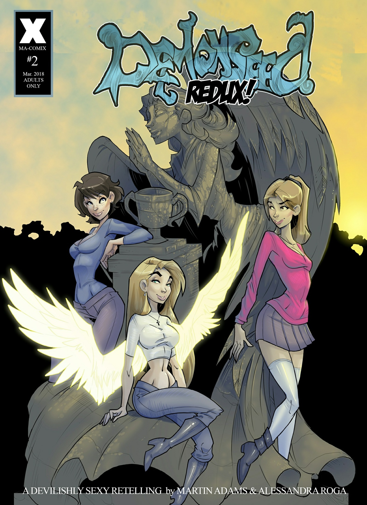 Demonseed Redux! Issue #2, Hi-Res Edition