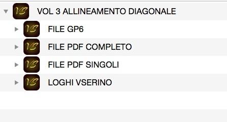 VOL 3 ALLINEAMENTO DIAGONALE
