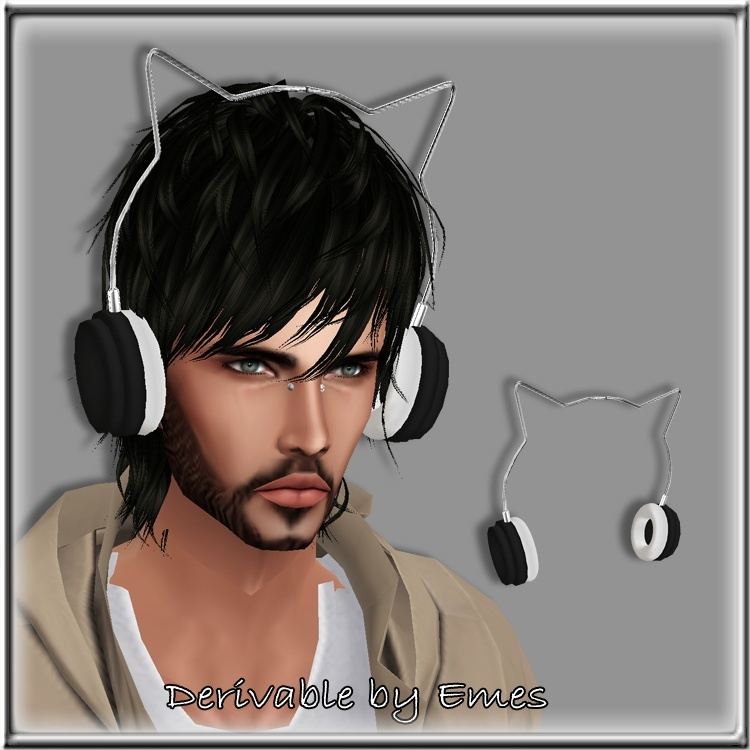 CAT HEADPHONES MESH MALE