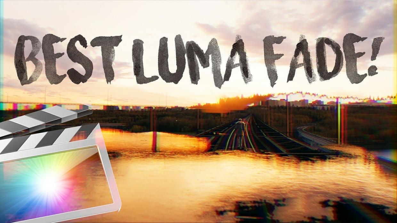 ULTIMATE LUMA FADE TRANSITION PACK - FINAL CUT PRO X