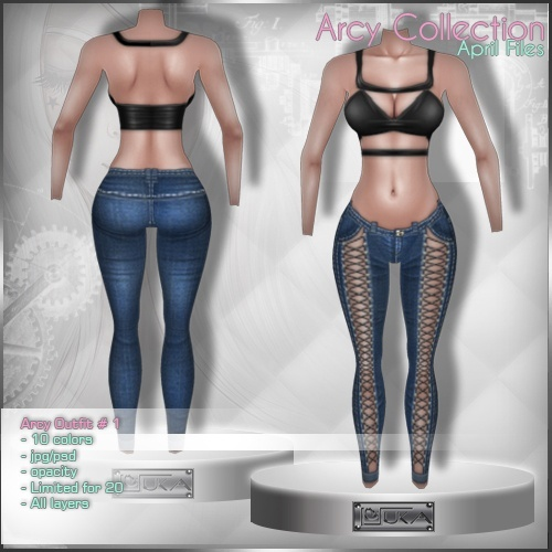 2015 Arcy Outfit # 1
